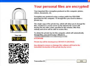 Plinta duomenis uzkoduojantis virusas - kompiuteriu remontas