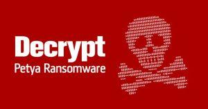 Petya naujausias pavojingas virusas
